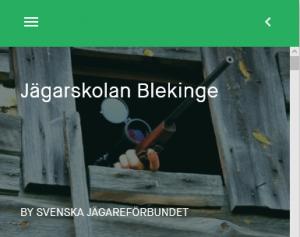 Jägarskolan Blekinge