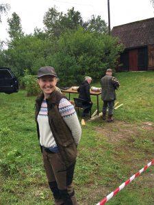 Luftgevärsskytte med Emil Tumelius och Therese Svensson.